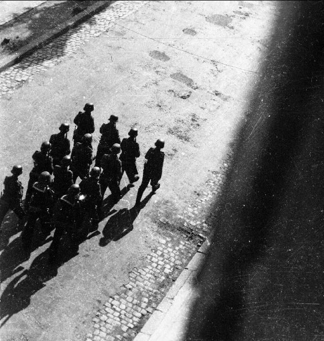 Arrivée des allemands à Brest Patrou10