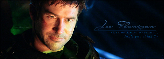 """My Name is Joe Flanigan and I'm turning into a bug"" Bannia10"