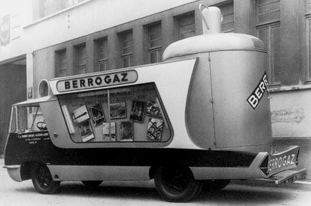 Les véhicules de la Caravane du Tour de France 1950's & 1960's - Page 2 Berrog10