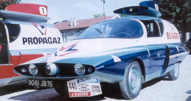 Les véhicules de la Caravane du Tour de France 1950's & 1960's - Page 2 Butaga10