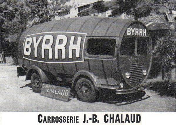 Les véhicules de la Caravane du Tour de France 1950's & 1960's - Page 3 Byrrh10