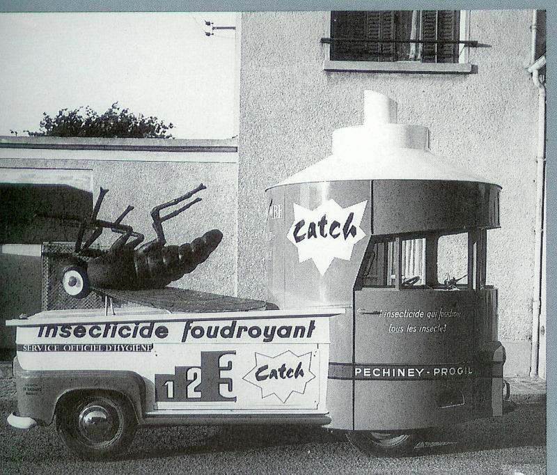 Les véhicules de la Caravane du Tour de France 1950's & 1960's - Page 2 Catch10