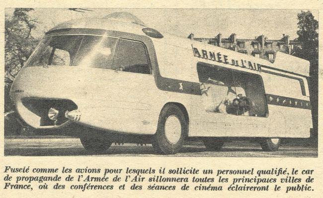Les véhicules de la Caravane du Tour de France 1950's & 1960's - Page 3 Charbo10