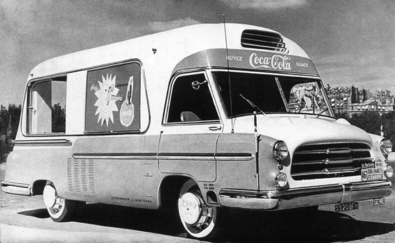 Les véhicules de la Caravane du Tour de France 1950's & 1960's - Page 2 Cocaco10