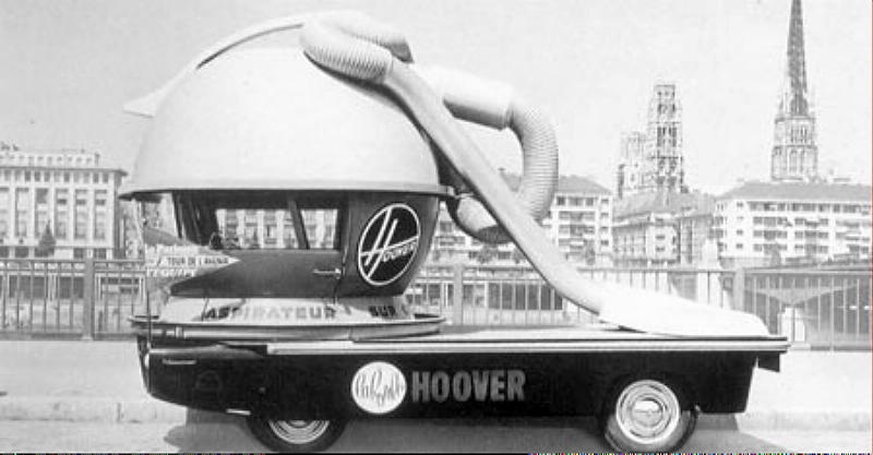 Renault Estaffette - Véhicule publicitaire Hoover aspirateur - Tour de France Hoover10