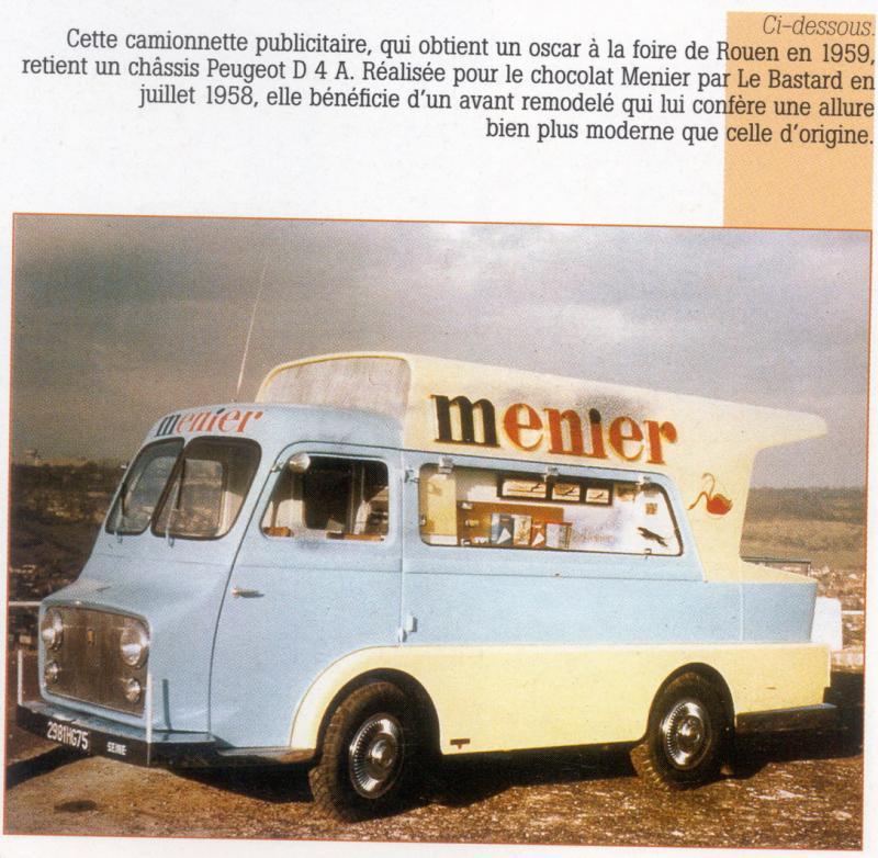 Les véhicules de la Caravane du Tour de France 1950's & 1960's - Page 2 Peugeo13