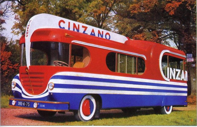 Les véhicules de la Caravane du Tour de France 1950's & 1960's - Page 3 Photos13