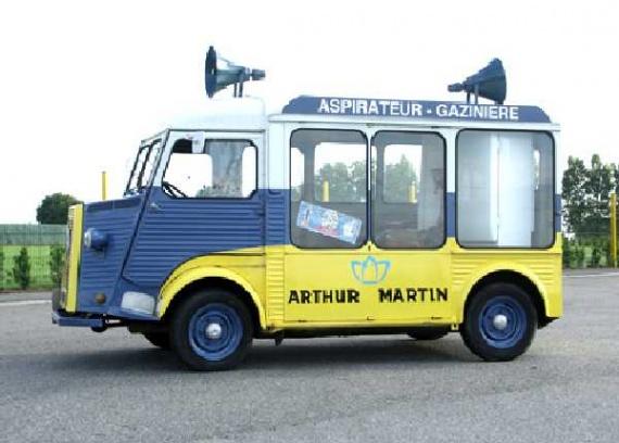 Les véhicules de la Caravane du Tour de France 1950's & 1960's - Page 2 Pub-an10