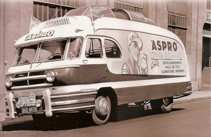 Les véhicules de la Caravane du Tour de France 1950's & 1960's - Page 3 Pub-as10