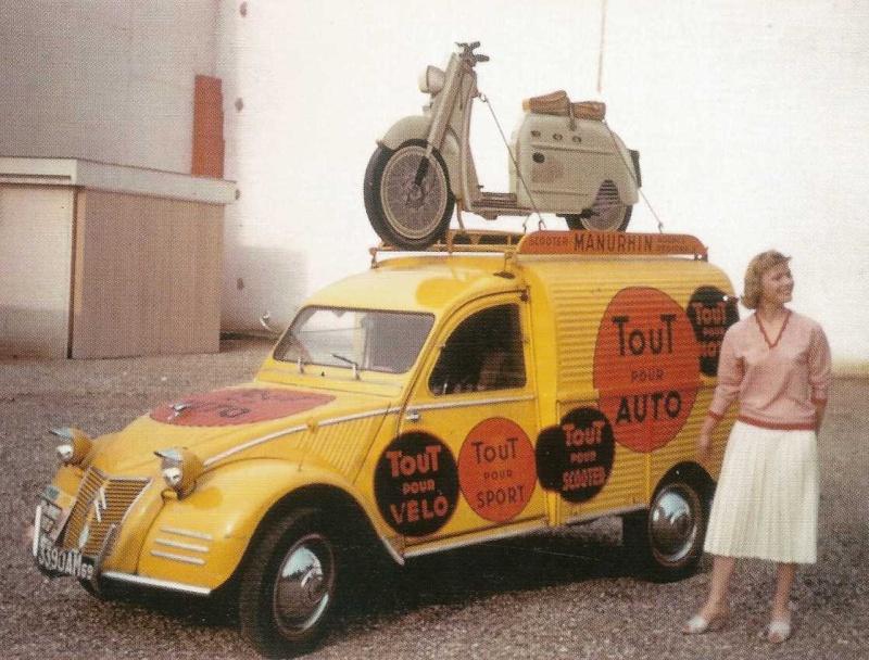 Les véhicules de la Caravane du Tour de France 1950's & 1960's - Page 3 Pub-si11