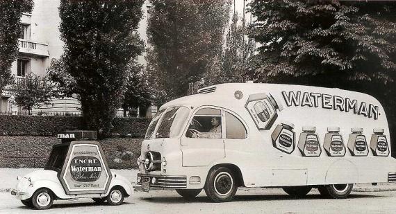 Les véhicules de la Caravane du Tour de France 1950's & 1960's - Page 3 Pub-wa10