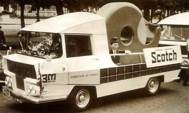 Les véhicules de la Caravane du Tour de France 1950's & 1960's - Page 2 Pub00110