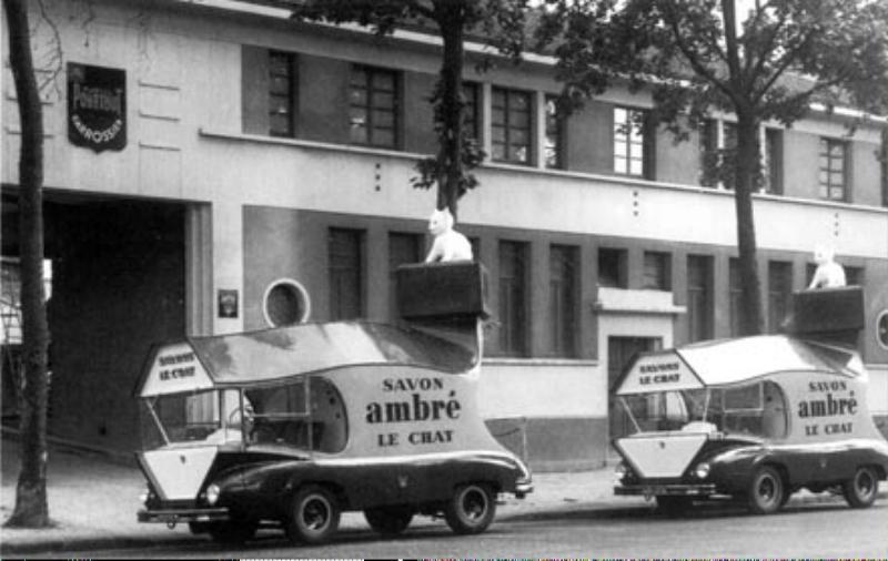 Les véhicules de la Caravane du Tour de France 1950's & 1960's - Page 3 Savon-10