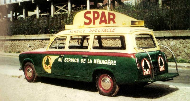 Les véhicules de la Caravane du Tour de France 1950's & 1960's - Page 3 Spar10