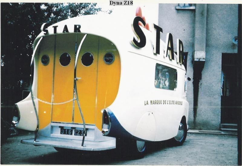 Les véhicules de la Caravane du Tour de France 1950's & 1960's - Page 3 Star10