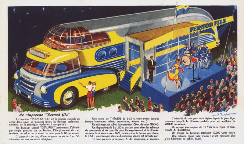 Les véhicules de la Caravane du Tour de France 1950's & 1960's - Page 3 Superc10