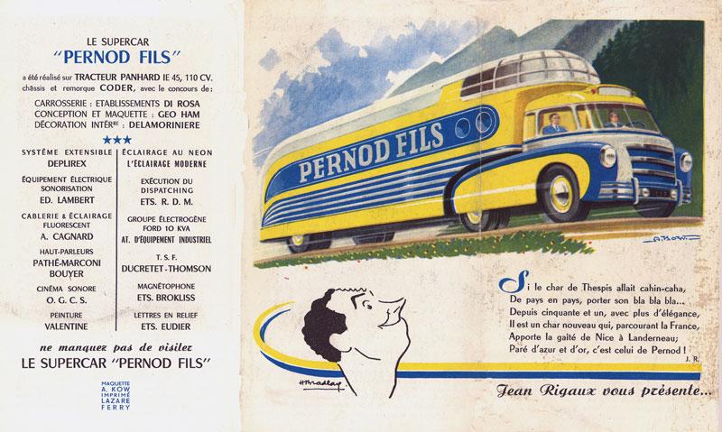Les véhicules de la Caravane du Tour de France 1950's & 1960's - Page 3 Superc11
