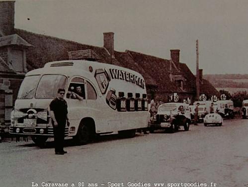 Les véhicules de la Caravane du Tour de France 1950's & 1960's - Page 3 Waterm10