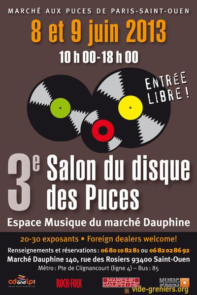 3eme Salon Du Disque Des Puces A Saint Ouen Le 8 & 9 Juin Brocan10