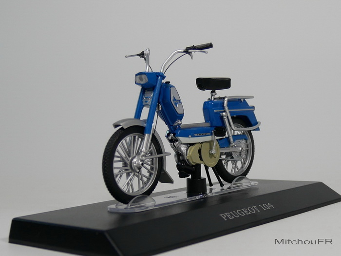 Mobylette miniature échelle -1/18 02_peu13