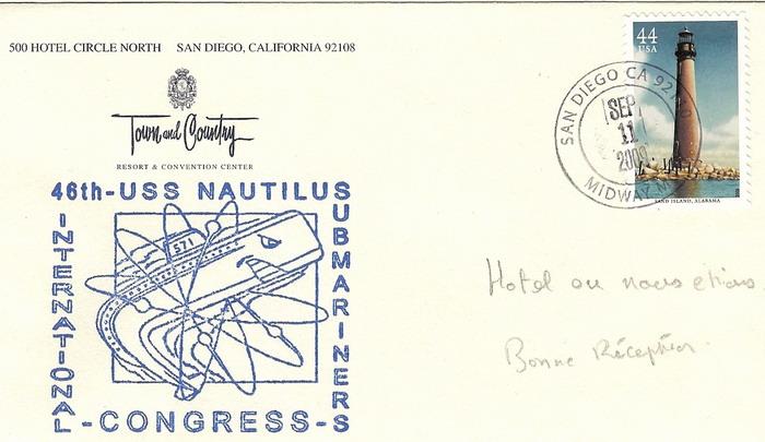 [ Associations anciens Marins ] Le congrès international des anciens sous-mariniers à San Di - Page 3 Numari12