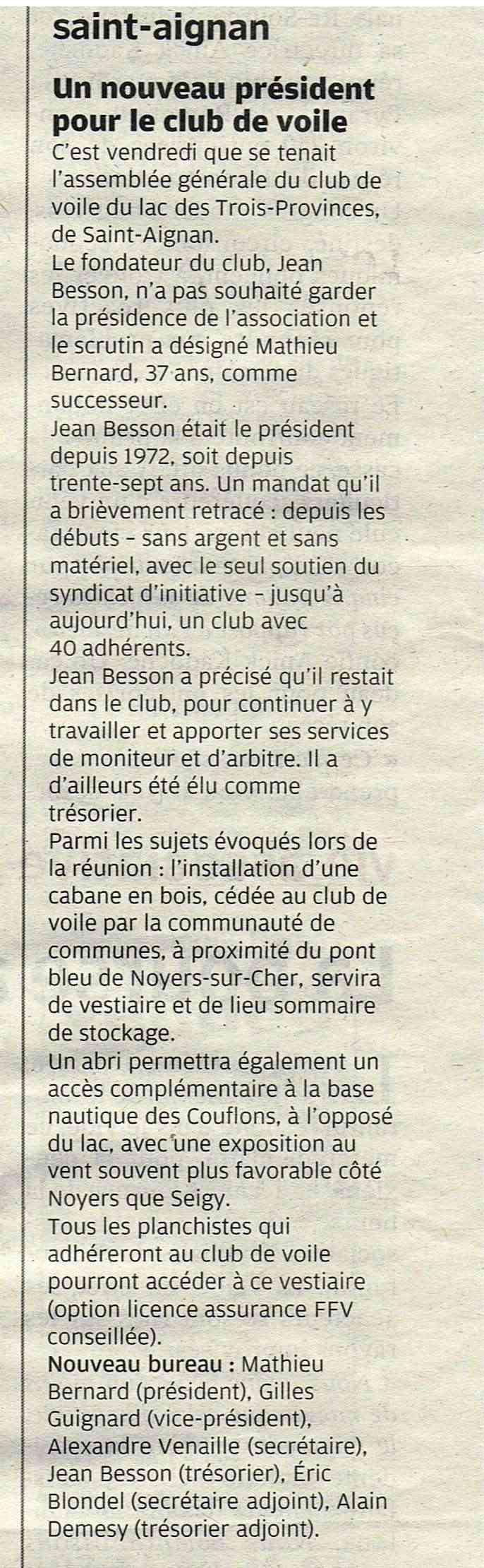 Revue de presse du Club Nr_02010