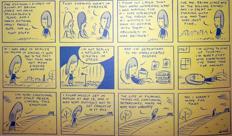 Caricatures de Françoise Hardy Deux10