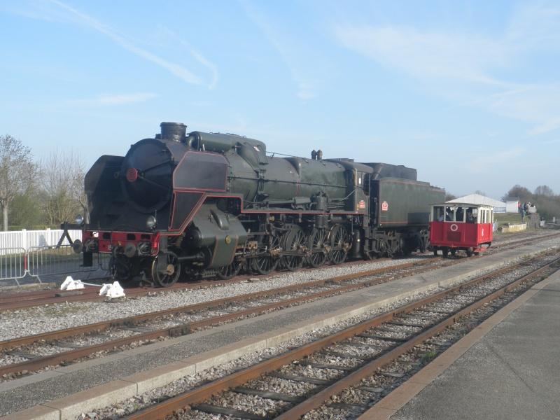 Fête de la vapeur en baie de Somme les 26-27-28 Avril P4270610