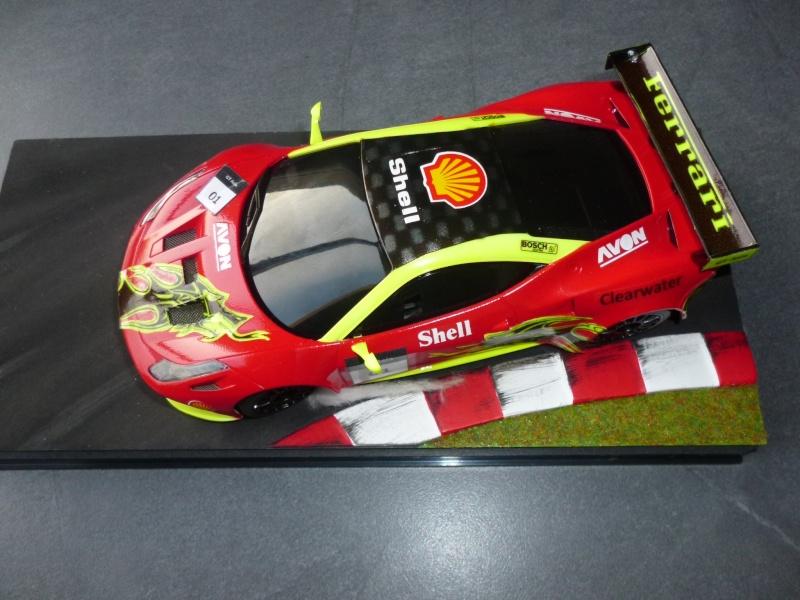 Ma première peinture sur Ferrari F 458 P1000311