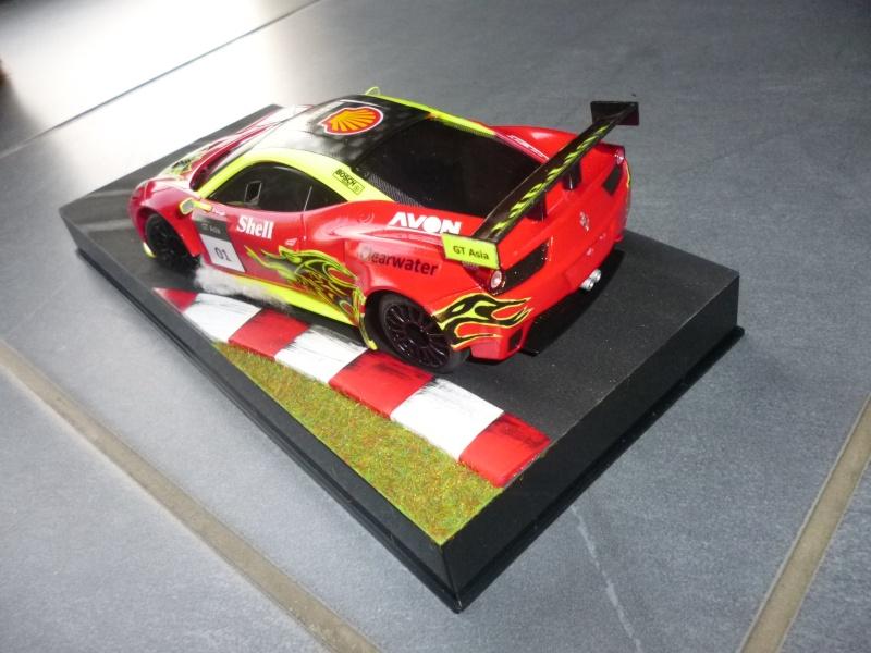 Ma première peinture sur Ferrari F 458 P1000312