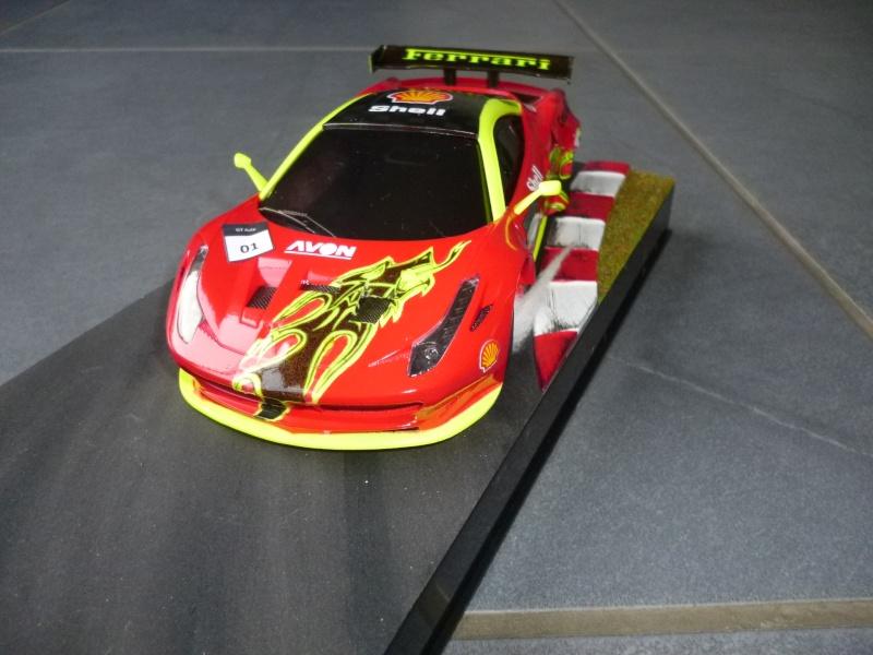 Ma première peinture sur Ferrari F 458 P1000313