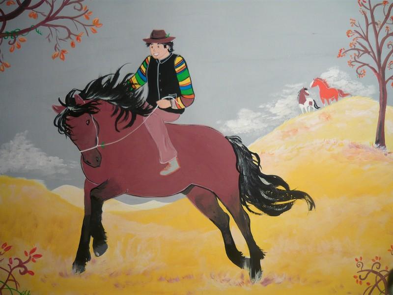 Vos chevaux et vous en dessin Rosco10