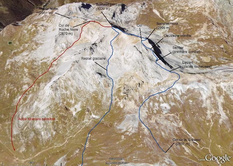 Col de la Grassaz, Pointe de la Vallaisonnay Ascens10