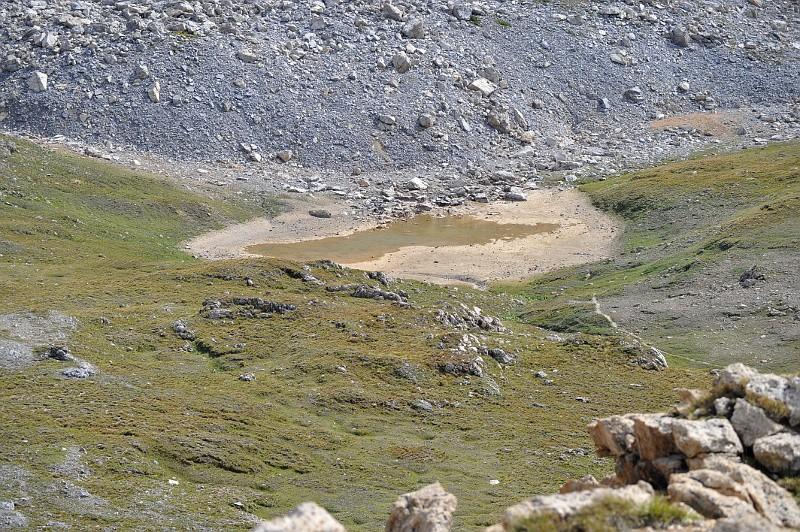 Peisey / lac de la Plagne / col du Plan Séry Lac110