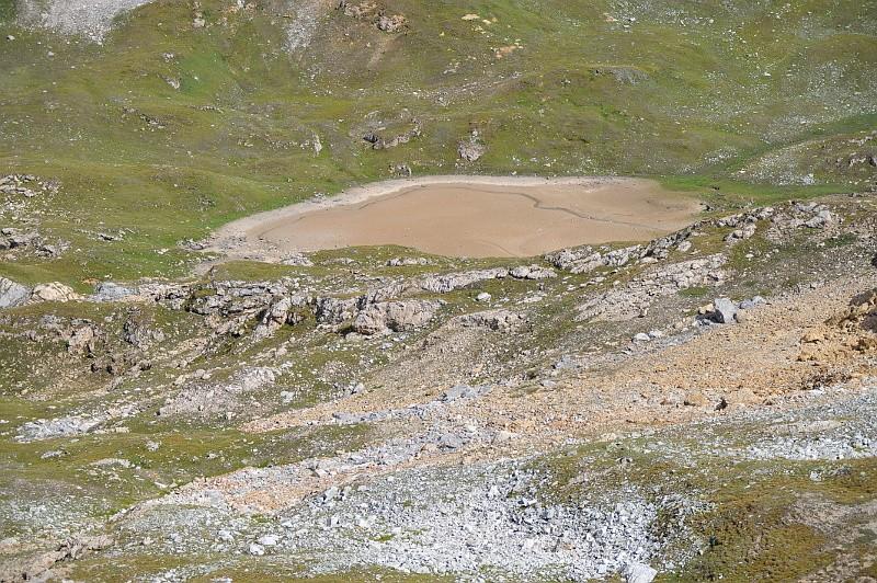 Peisey / lac de la Plagne / col du Plan Séry Lac210