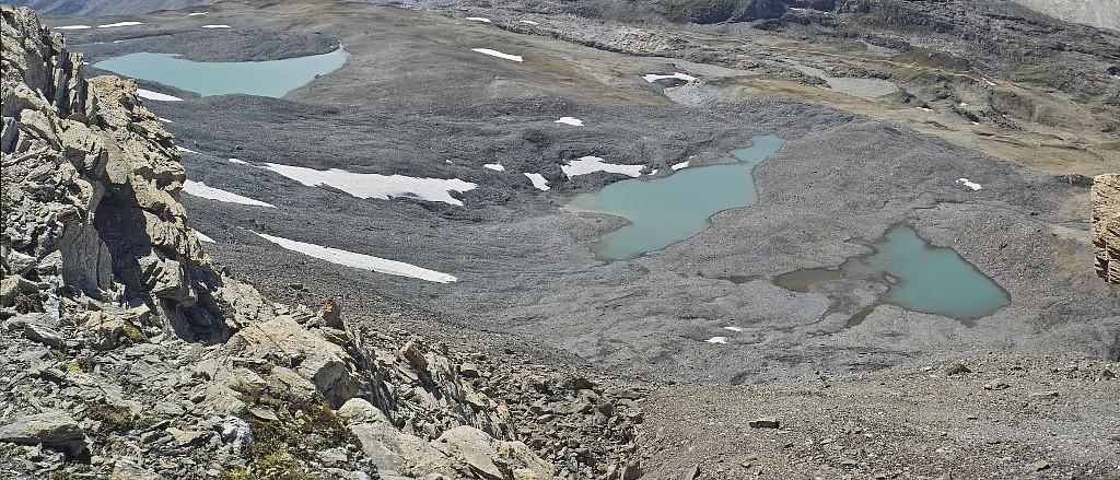 Les lacs de la Leisse et l'arête du Génépy Lacs10