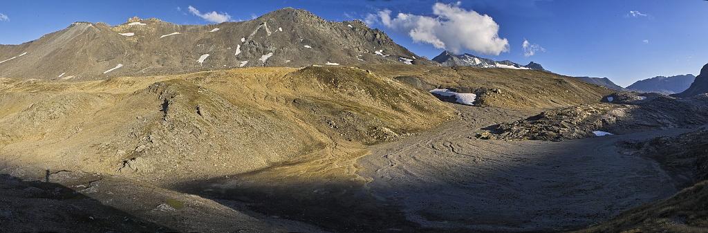 Les lacs de la Leisse et l'arête du Génépy Leisse11