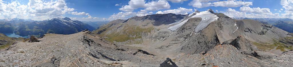Le rocher de la Davie Pano3614