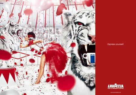 Les Oeuvres d'Art et la publicité Lavazz11