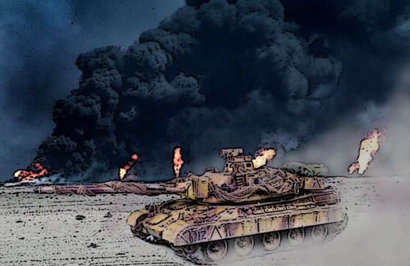 Opération Daguet 1991 [AMX-30, Heller - 1/35] - Page 3 Amx-3011