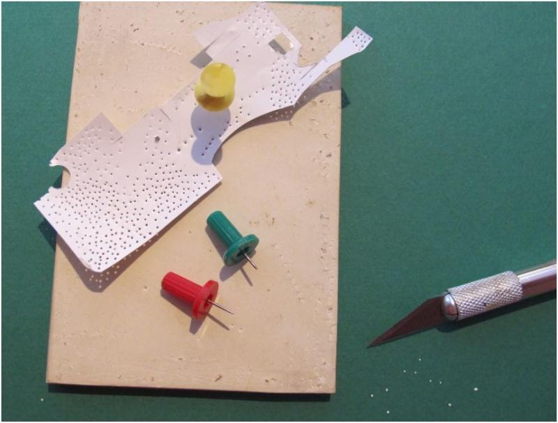 Fabrication de rivets: la technique de la punaise Rivets10