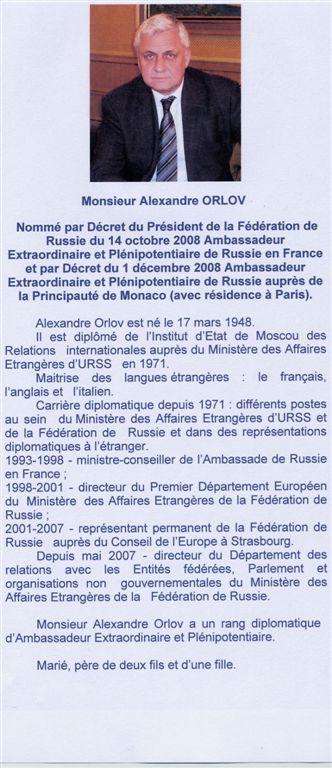 Visite de M. L'Ambassadeur de Russie File0010