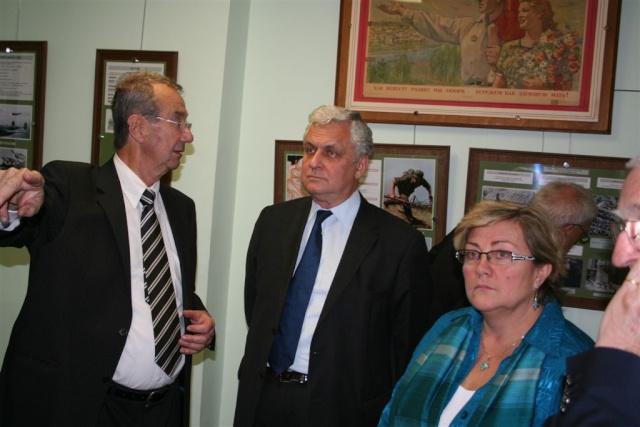 Visite de M. L'Ambassadeur de Russie Img_6111
