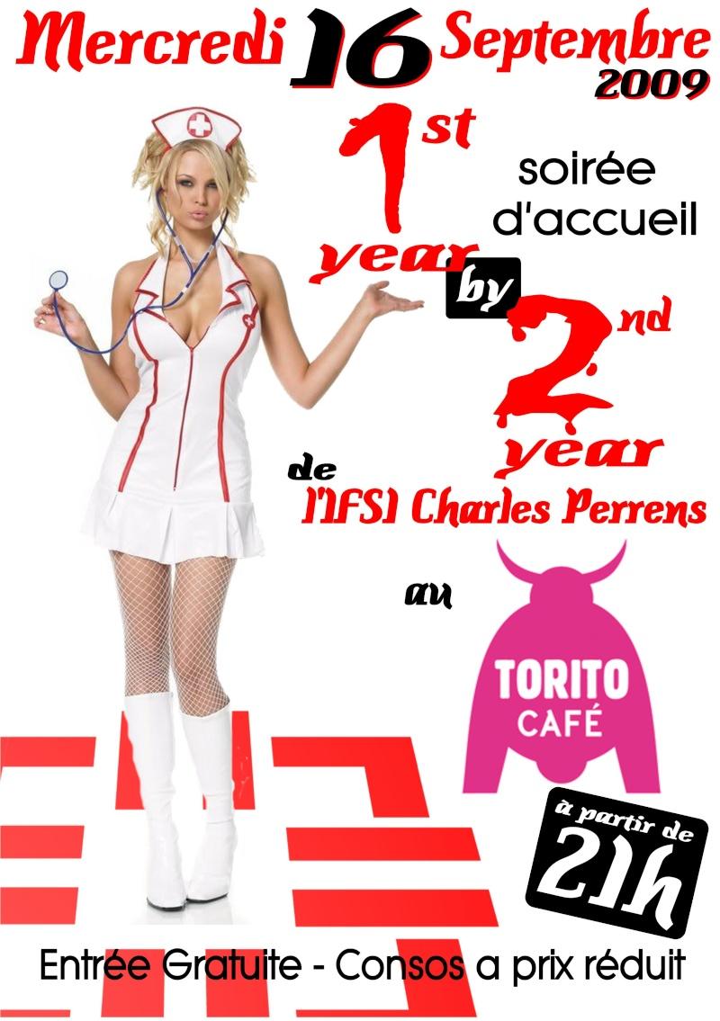 Soirée de rentrée 2009 Mercredi Soir 16 septembre 2009, Organisé par les étudiants de Charles Perrens Soirae10