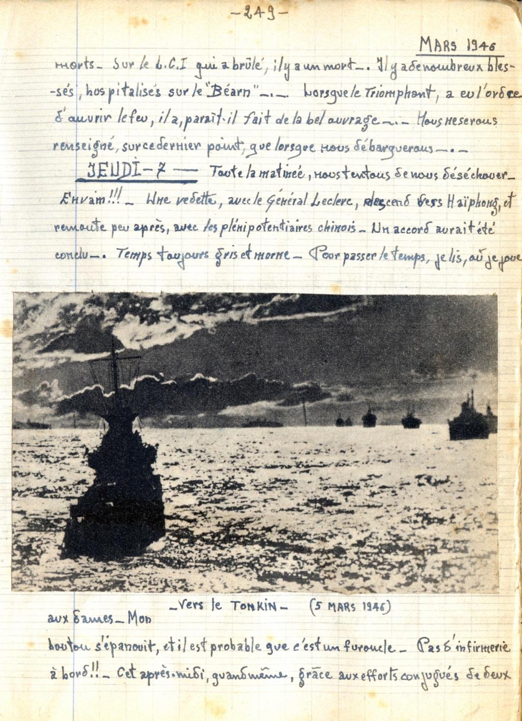 [ Histoires et histoire ] Mon oncle Georges Le Brazic - Carrière Marine, du Maquis à l'Indochine de 44 à 48 24910