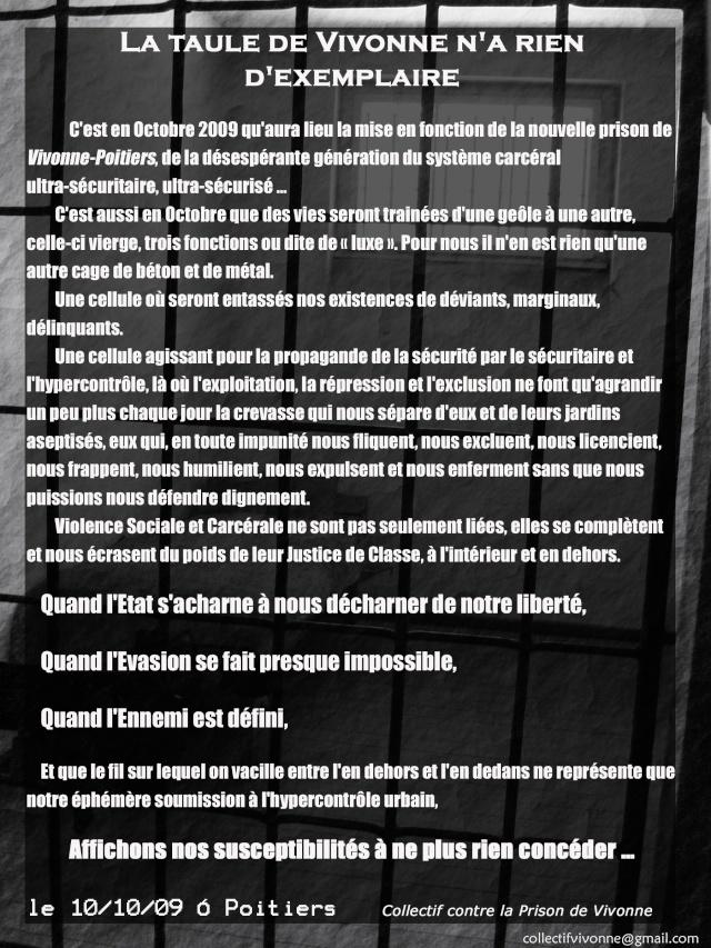 Vienne - Scènes de violences dans les rues de Poitiers Prison11