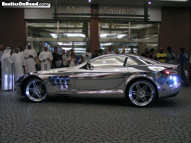 Mercedes Benz made of pure silver Merced10
