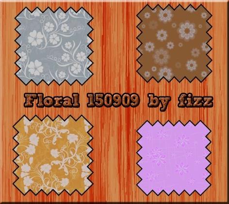 Texturas/Patterns Floral10