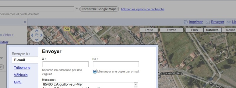 Utilisez Google™ Maps avec votre GPS Garmin Captur33