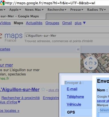 Utilisez Google™ Maps avec votre GPS Garmin Captur34